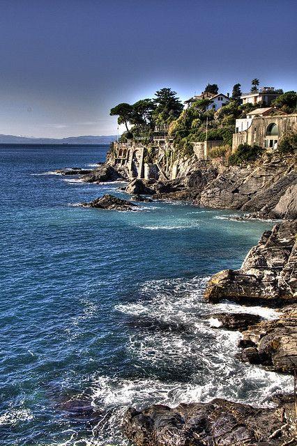 Nervi, Genoa, Liguria, Italy Can't wait!