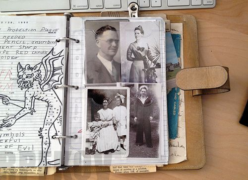 Creating John Winchester's Journal