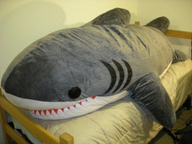 Shark Pillow Sleeping Bag best 25+ big shark ideas on pinterest | big great white shark