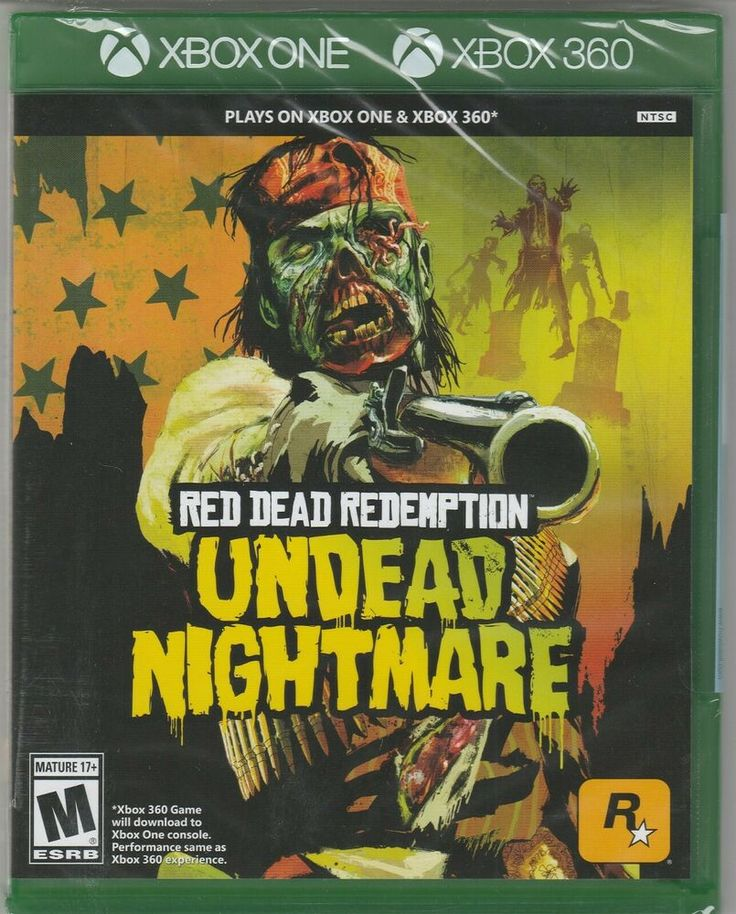 New Red Dead Redemption Undead Nightmare Xbox One Xbox 360 Free Shipping Red Red Dead Redemption Undead Nightmare Red Dead Redemption Xbox 360 Video Games
