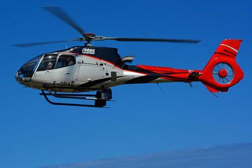 Hélicoptère EC130 de CORAIL Hélicoptères