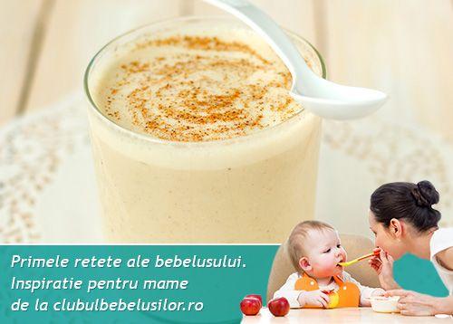 Grisul cu lapte, desertul copilariei noastre, poate fi oferit micutilor dupa varsta de 1 an la gustarea de la ora 10 sau la cina.
