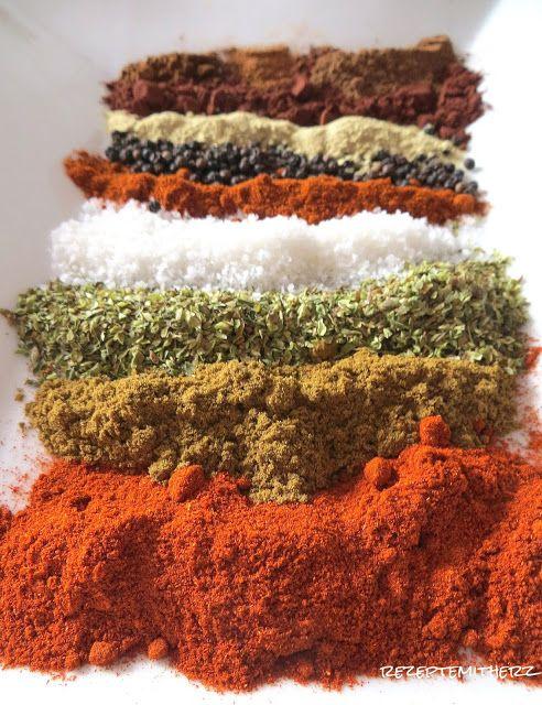 Rezepte mit Herz   ♥: Chili Con Carne Gewürzmischung
