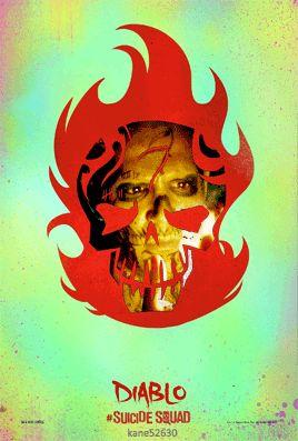 Suicide Squad Diablo GIF Poster