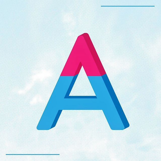 """This weeks little design lesson is on type theory. The """"apex"""" is the upward point found on certain letters such as """"A"""". The opposite of this is a """"vertex"""", found on letters such as """"V"""". """"W"""" and """"X"""" are lucky enough to have both. #typography #typetheory #apex #designskills #graphicdesign #design #designlesson #type #graphics #infographic #designbasics #designstudio #melbourne #dangerhorse #designer #creative #a #vertex #themoreyouknow"""