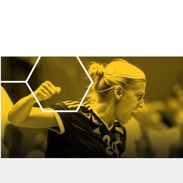 The Powerhouse That Is Hagman  #handball #handballplayer #handballplayers #handballteam #handballspiel #handballgirl #kristinamullekristiansen #nathaliehagman #noramørk #estavanapolman