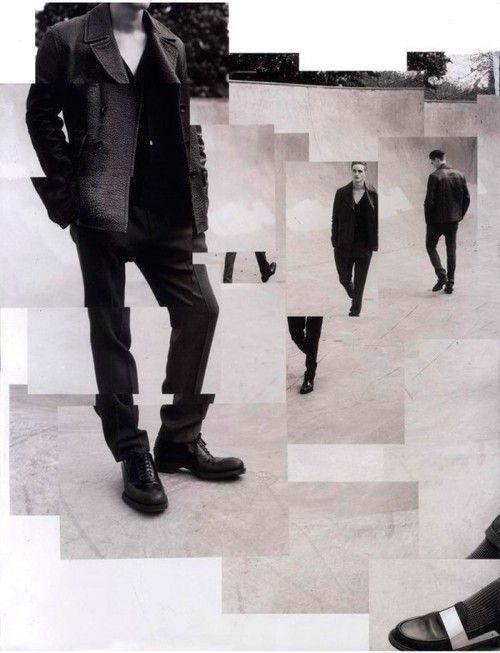 Manuel Vera | El editorial Men at Work de la revista Numéro Homme Fotos de Jacob Sutton y estilismo de moda de Samuel François
