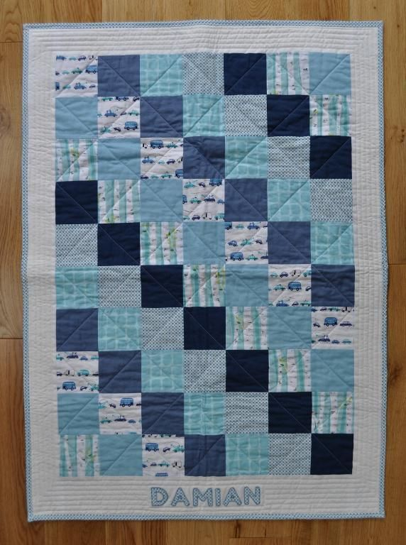 Quilting: Baby boy quilt