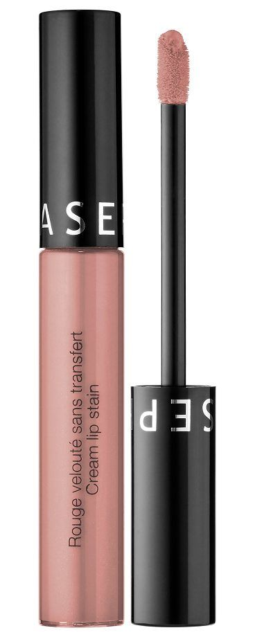 Cream Lip Stain Liquid Lipstick 32 Nude Blush by SEPHORA COLLECTION. A silky, long-lasting lip stain that keeps lips covered with bold color from AM to PM no need to reapply or touch up throughout the day. This bestselling, high-coverage lip color glides on smooth and transforms from a creamy texture into... #sephoracollection #makeup #beauty