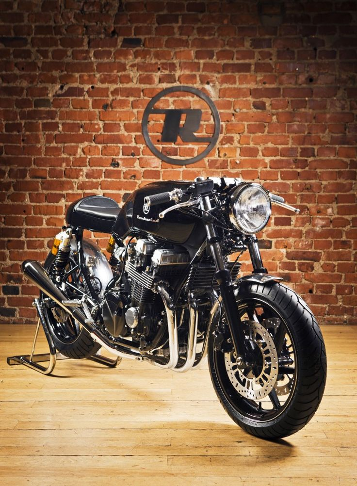 Honda CB750 Cafe Racer by Rewheeled 8