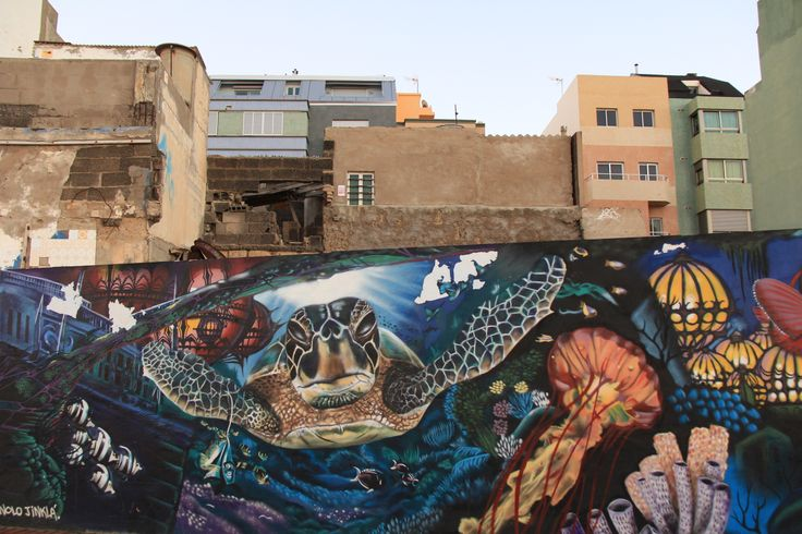 Street art in Las Palmas