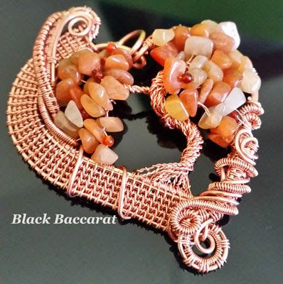 Black Baccarat Jewellery: Ciondolo Albero della Vita - Tree of Life pendant