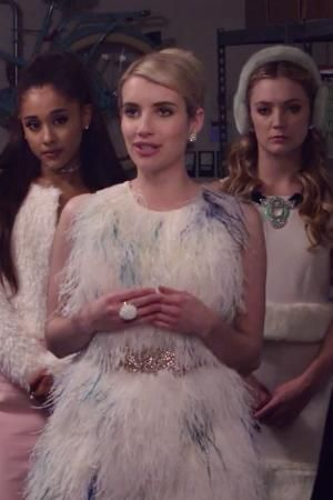 This scream queens trailer gives some scary sorority insight...