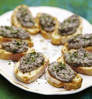 Jamie Oliver's Mushroom pate