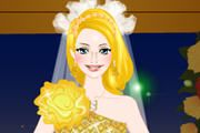 Candle wedding dress up games