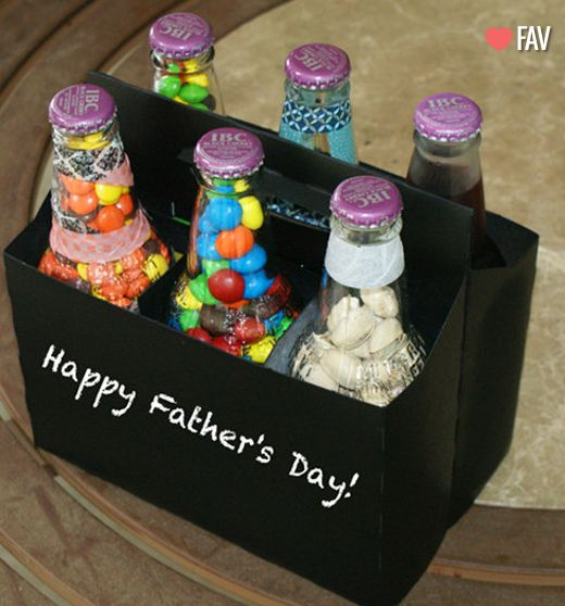 #diy father's day craft or you could personalize for any birthday or holiday!! Love this idea!! Daily update on my website: iliketodecorate.com