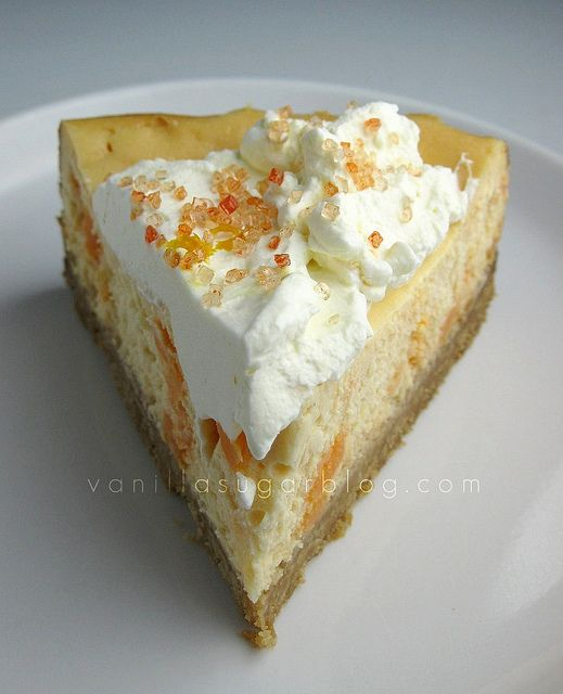 It's National Creamsicle Day! And I have creamsicle cheesecake!