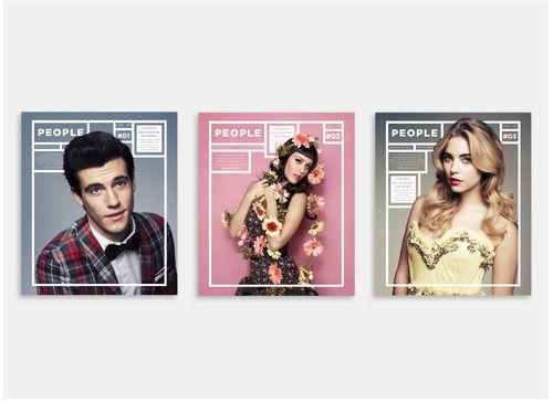 Experimental Redesign of People Magazine   Rachel Willey  