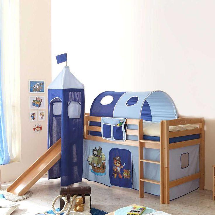 Kinderbett junge pirat  Die besten 25+ Kinderbett mit rutsche Ideen auf Pinterest ...