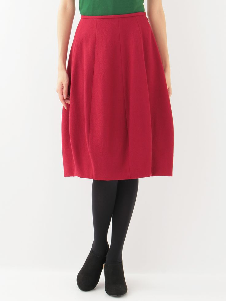 Crepe balloon skirt   Sybilla (tobira)   Itokin fashion mail order site