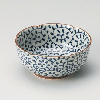 Japanese bowl   :::   octopus pattern