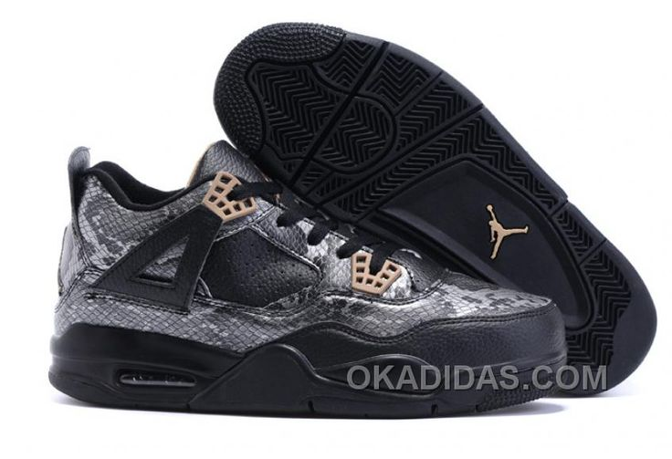 http://www.okadidas.com/2017-mens-air-jordan-4-black-snakeskin-black-grey-for-sale-free-shipping-yxy47.html 2017 MENS AIR JORDAN 4 BLACK SNAKESKIN BLACK/GREY FOR SALE FREE SHIPPING YXY47 : $93.00