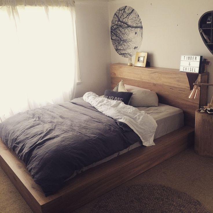 Hardwood bed frame/base