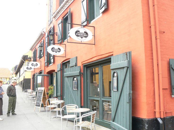 Cute restaurant in Svaneke, Bornholm.