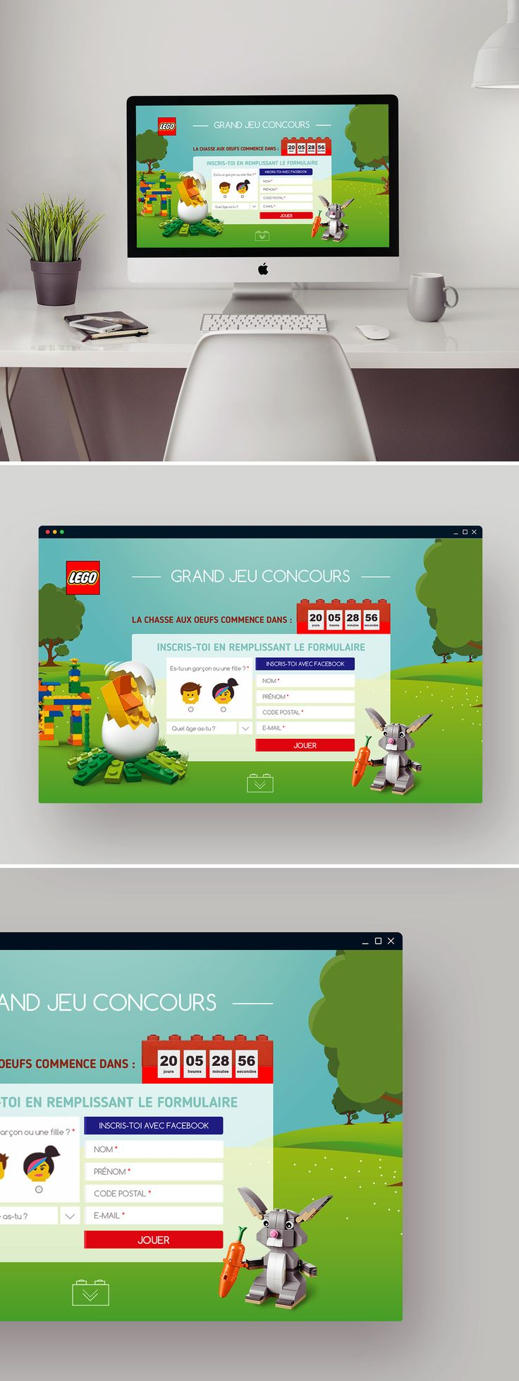 "#UI #Design #Advergame  Check out this @Behance project: ""ADVERGAME LEGO"" https://www.behance.net/gallery/41482761/ADVERGAME-LEGO"