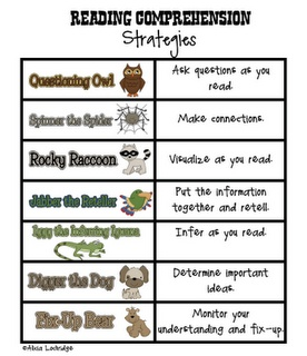 Reading comprehension strategies: Strategies Materials, Schools, Grade Factories, Reading Comprehen Strategies, Reading Comprehension, Comprehension Strategies, Reading Strategies, First Grade, 1St Grade