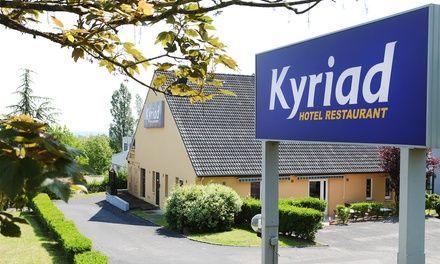 Lorraine : 1 à 3 nuits avec petits déjeuners à l'hôtel Kyriad Nancy Sud-Ludres pour 2 personnes