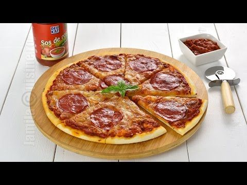 Pizza picanta | Pizza Diavola | Spicy Pizza (CC Eng Sub) | JamilaCuisine - YouTube