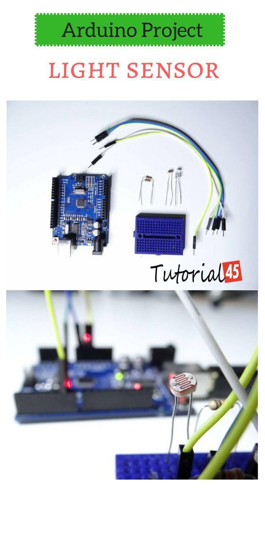 arduino light sensor project jesse arduino light sensor, light