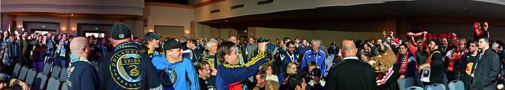 Rival Supporter Groups at MLS SuperDraft 2014 #SonsofBen
