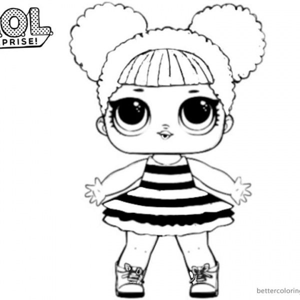 Lol Surprise Coloring Pages Queen Bee Bee Coloring Pages Baby Coloring Pages Cool Coloring Pages