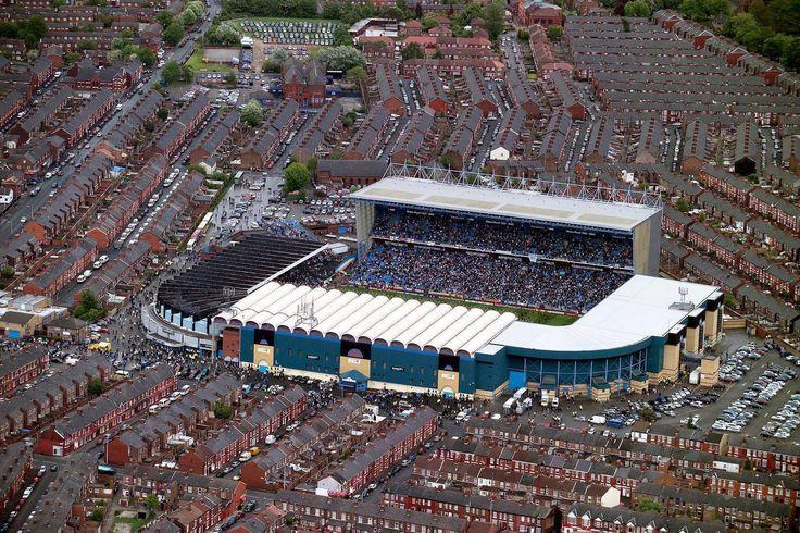 Main Road Stadium, Manchester City FC's former ground (until 2003)