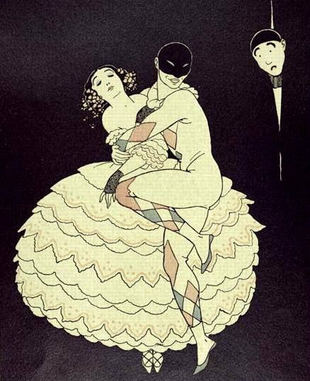 "Leon Bakst - Ballet ""Carnaval"""