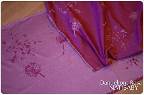 Natibaby Dandelions Rosa 70% Cotton, 30% Silk Release Date: January 22, 2015