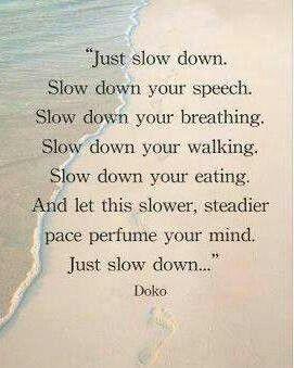 Slow my roll