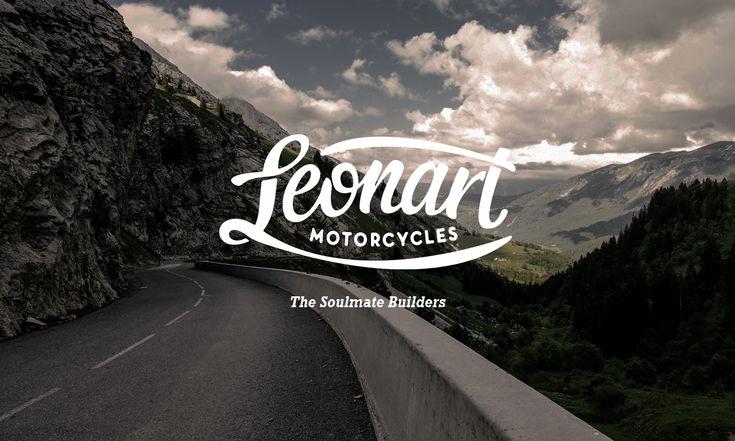 Leonart Motorcycles Corporate Identity, BCNAlex Ramon Mas Studio