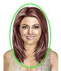 Medium Hairstyles For Fat Faces | the right long hairstyle this soft forward falling hairstyle has