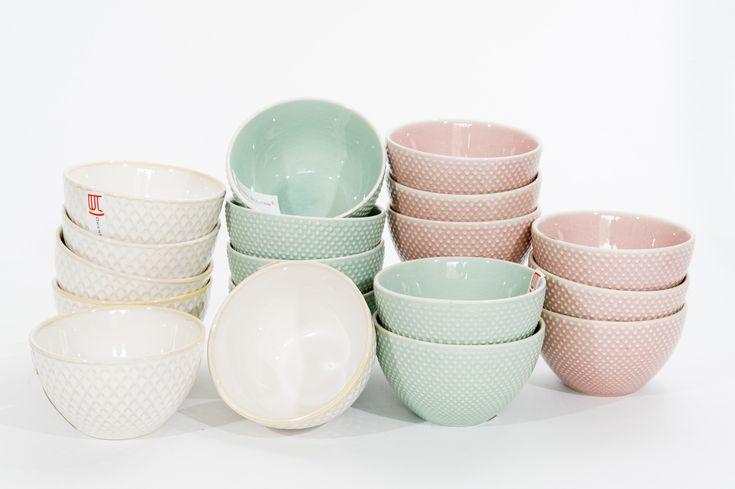 Pastelkleurige theekopjes van Oriental Selection. www.towntje.nl
