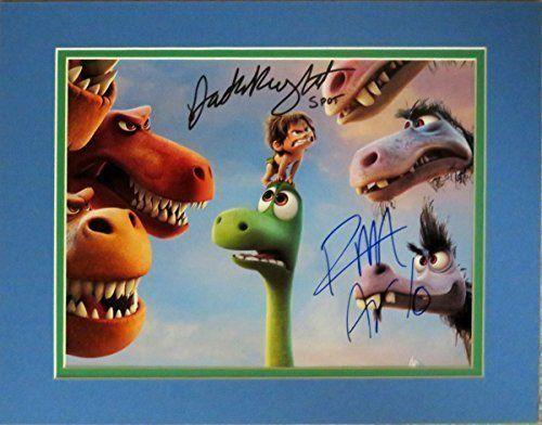 Disney The Good Dinosaur 8.5x11 Photo of Arlo & Spot Autographed By Voices Raymond Ochoa & Jack Brig @ niftywarehouse.com #NiftyWarehouse #Disney #DisneyMovies #Animated #Film #DisneyFilms #DisneyCartoons #Kids #Cartoons