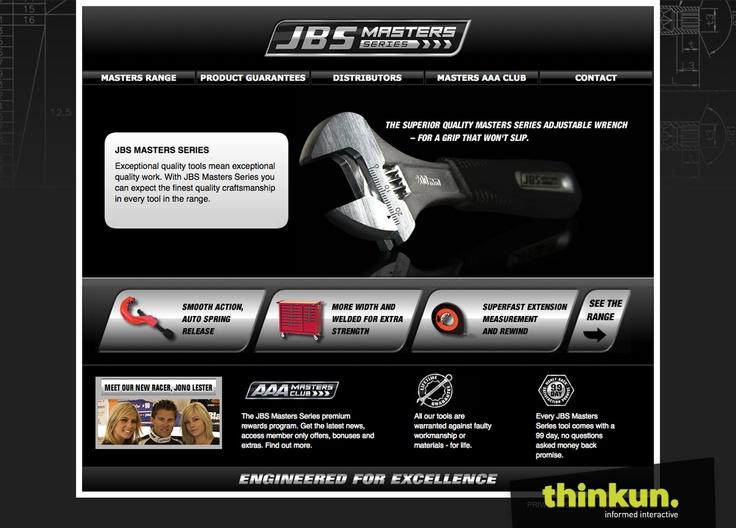 JBS tools website
