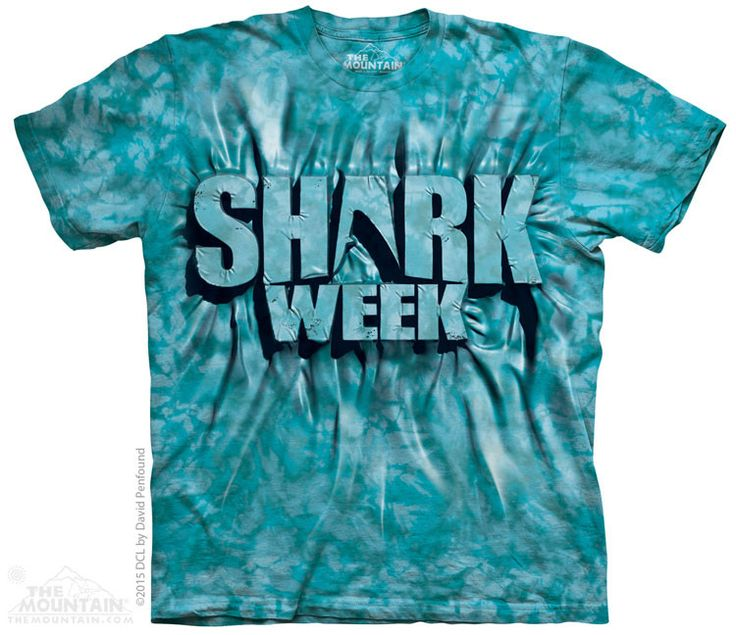 Aqua Shark Week - The Mountain - Youth - $15.99   Shop where every purchase helps shelter pets!