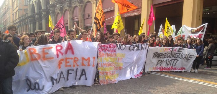 » A Bologna, per la marcia di Libera, con Daniela Marcone e Viviana Matrangola