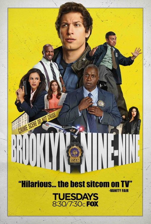 One of the funniest American sit-coms in a long time is Brooklyn Nine-Nine. Perfect casting all round and some brilliant characters.