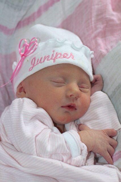 ruffled girly girl newborn baby girl hat bright pink