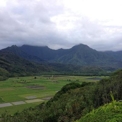 Hanalei lookout is on the north shore about 40 minutes from Koloa Landing.  #koloalanding