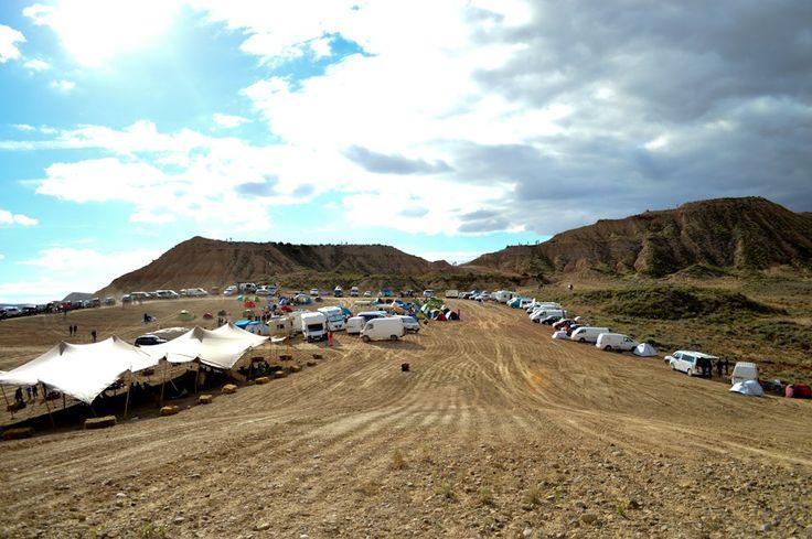 Road-trip / Sur la route du désert des Bardenas Reales et du festival 24h Bardenas Music Camp / Après la flemme blog